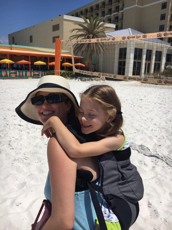 Mattie at Beach